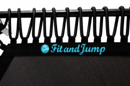 Fit and Jump Trampoline – black rope
